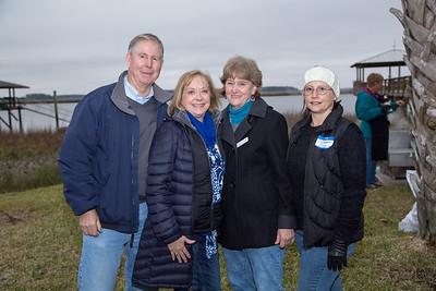 John and Kathy Redgate, Carolyn Hannaford, Guien Hannaford
