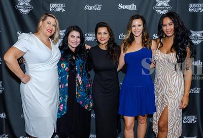 Jessica Mitchell, Rachel Smith, Trupti Bhula, Holly Wade and Yaz Rodriquez