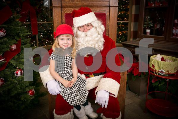 Sun. Dec. 6 2015 Rogers Garden Santa