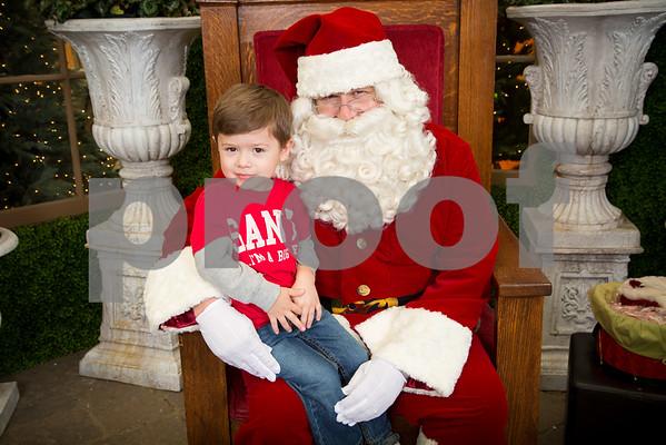 Fri. Nov. 25, 2016 Rogers Garden Santa