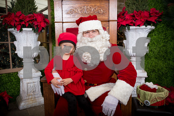 Sat Dec 10, 2016 Rogers Garden Santa