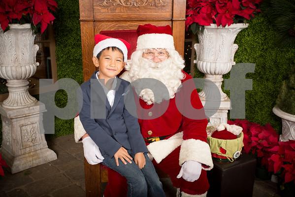 Sun Dec.11, 2016 Rogers Garden Santa