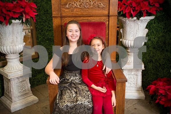 Sun Dec.18, 2016 Rogers Garden Santa
