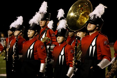 Slippery Rock High School Marching Band Competes