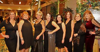 Crystal Ball Committee (left to right): Alicia Palmiero, Jan Nieto, Jocelyn Shetter, Kris Bauser, Audray Muscatallo Yost, Kime Patterson, Carrie Bessor-Foreman, Lou Ann Rosellini.