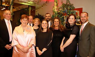 2020 Women of Legacy award winner Amy Hamonds (front left) with family. Left to right: Phillip Hammonds, Steve Runkle (back), Mary Hammonds (back), Jennifer Hammonds, Ian Hammonds (back), Suzie Bradrick, Kaitlyn McIntyre, Patrick McIntyre.