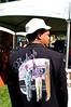 """Adu Jahmal, artist and vintner, in a jacket he designed.<br />  <a href=""""http://www.misenbouteillewine.com/"""">http://www.misenbouteillewine.com/</a>"""