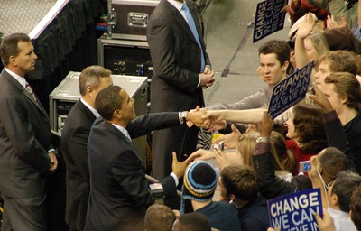 Obama Rally Seattle 2-8-08