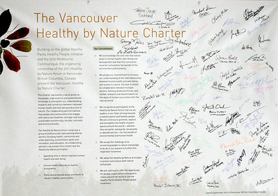 The Vancouver Healthy By Nature Charter 9-11