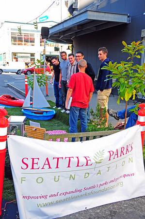 Park(ing) Day Seattle - 9/18/09