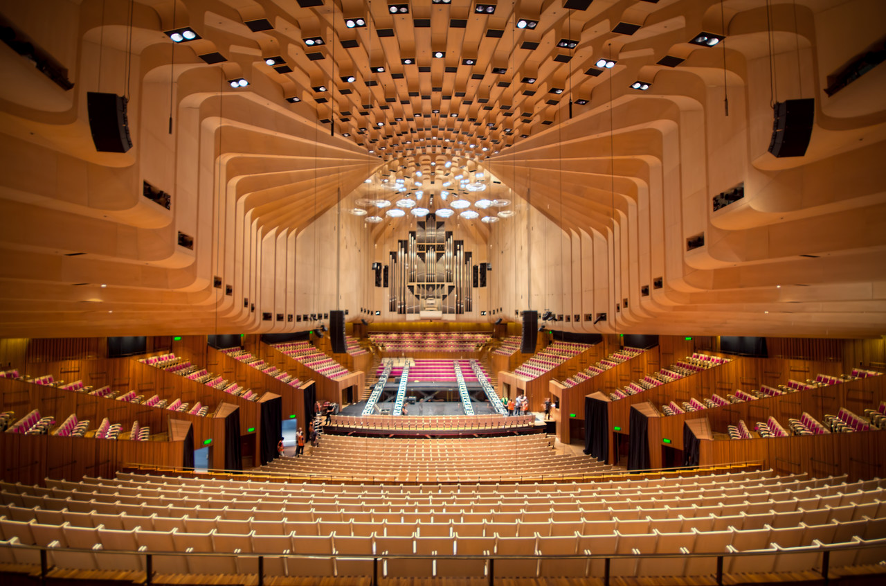 Interior of the Sydney Opera House