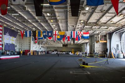Hangar Bay, USS NImitz