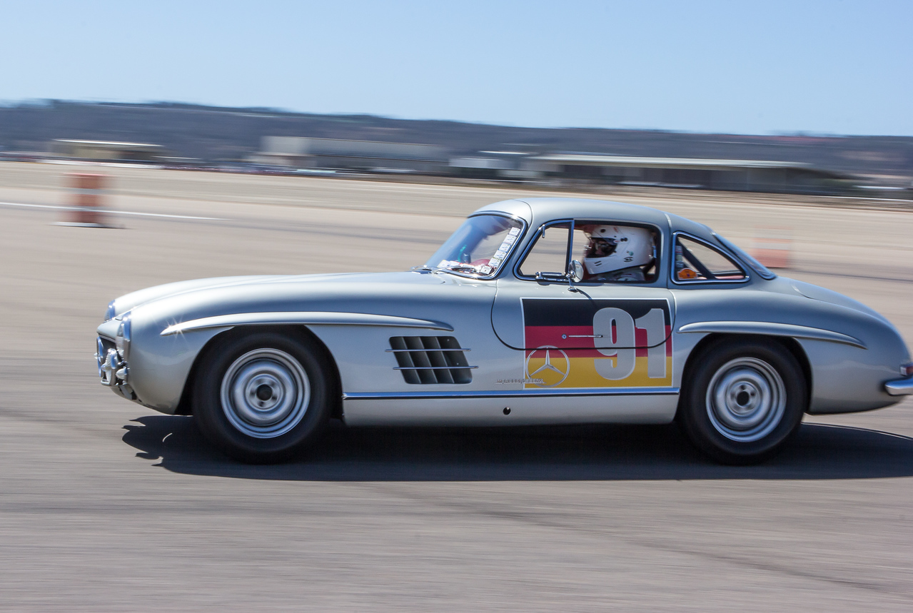 Alex Curtis; 1955 Mercedes Benz 300SL