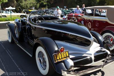 1932 Auburn boattail speedster.  Greystone Mansion Concours d'Elegance