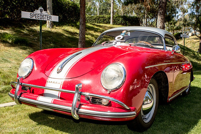 The Porsche Speedster's were honored with a special class at this year's Concours. Greystone Mansion Concours d'Elegance