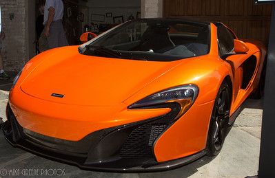 McLaren's new 650S.  Greystone Mansion Concours d'Elegance