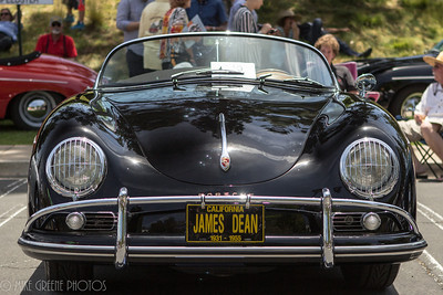 John Whitworth's 1958 Porsche Speedster.  Greystone Mansion Concours d'Elegance