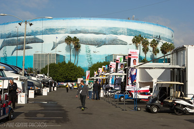 Saturday morning, qualifying day in the Indycar paddock, Long Beach Grand Prix