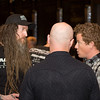 Magnus Walker (L) and Patrick Long, at the LA Lit and Toy Show.  Photo by Mike Greene.
