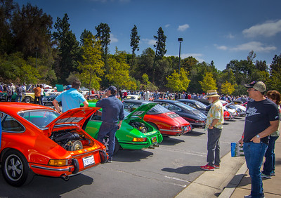 Greystone Mansion Concours