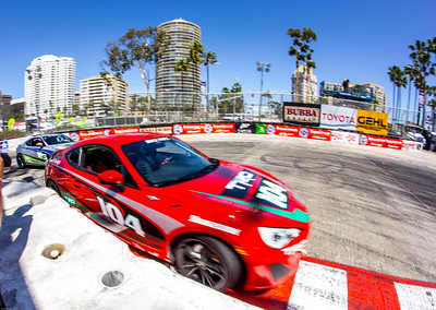 """Mad"" Max Papis takes an unconventional line at the Toyota Pro Celebrity Race"