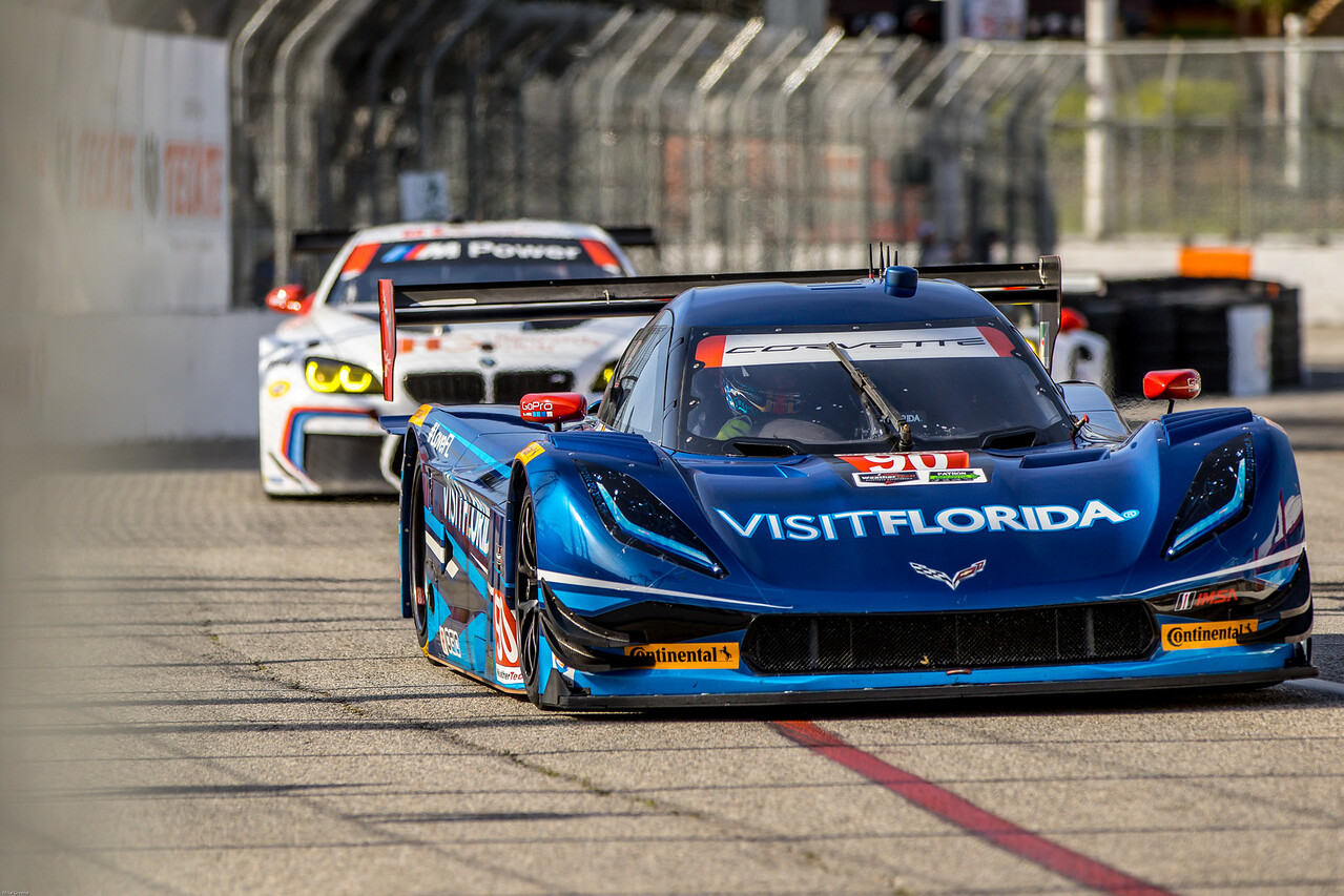 Marc Goossens / Ryan Hunter-Reay, IMSA Weathertech Sports Car Championship
