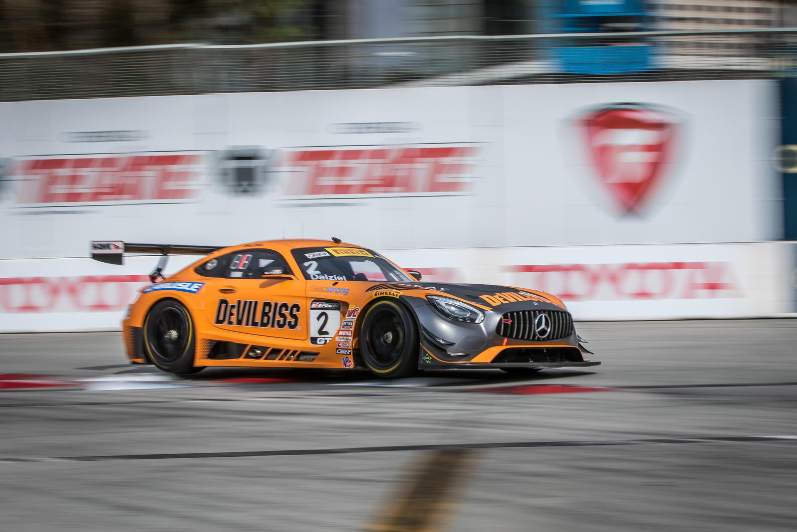 IMSA Weathertech Series AMG GT3 driven by Ryan Dalziel