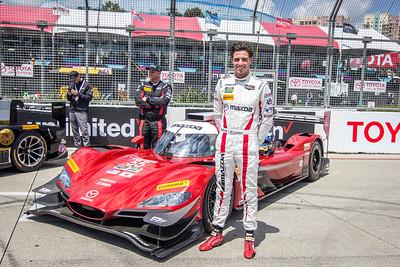 IMSA Weathertech Series;  pre-grid with Tristan Nunez, Mazda Motorsports Mazda DPi