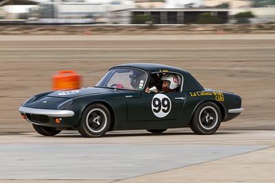 Ride-alongs on Friday morning. Victor Avila; 1964 Lotus 26R.