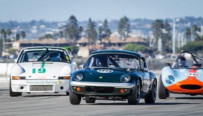 Victor Avila; 1964 Lotus 26R;  Steven Byrnes; 1965 Ginetta G4; Porsche 911