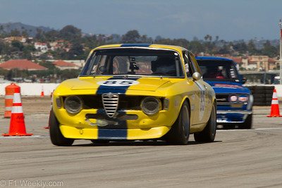 1967 Alfa Romeo GTV, owned and driven by Bob Wass of Sherman Oaks, CA.