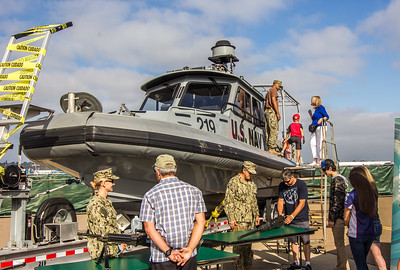 U.S. Navy Open House at the 2016 Coronado Speed Festival