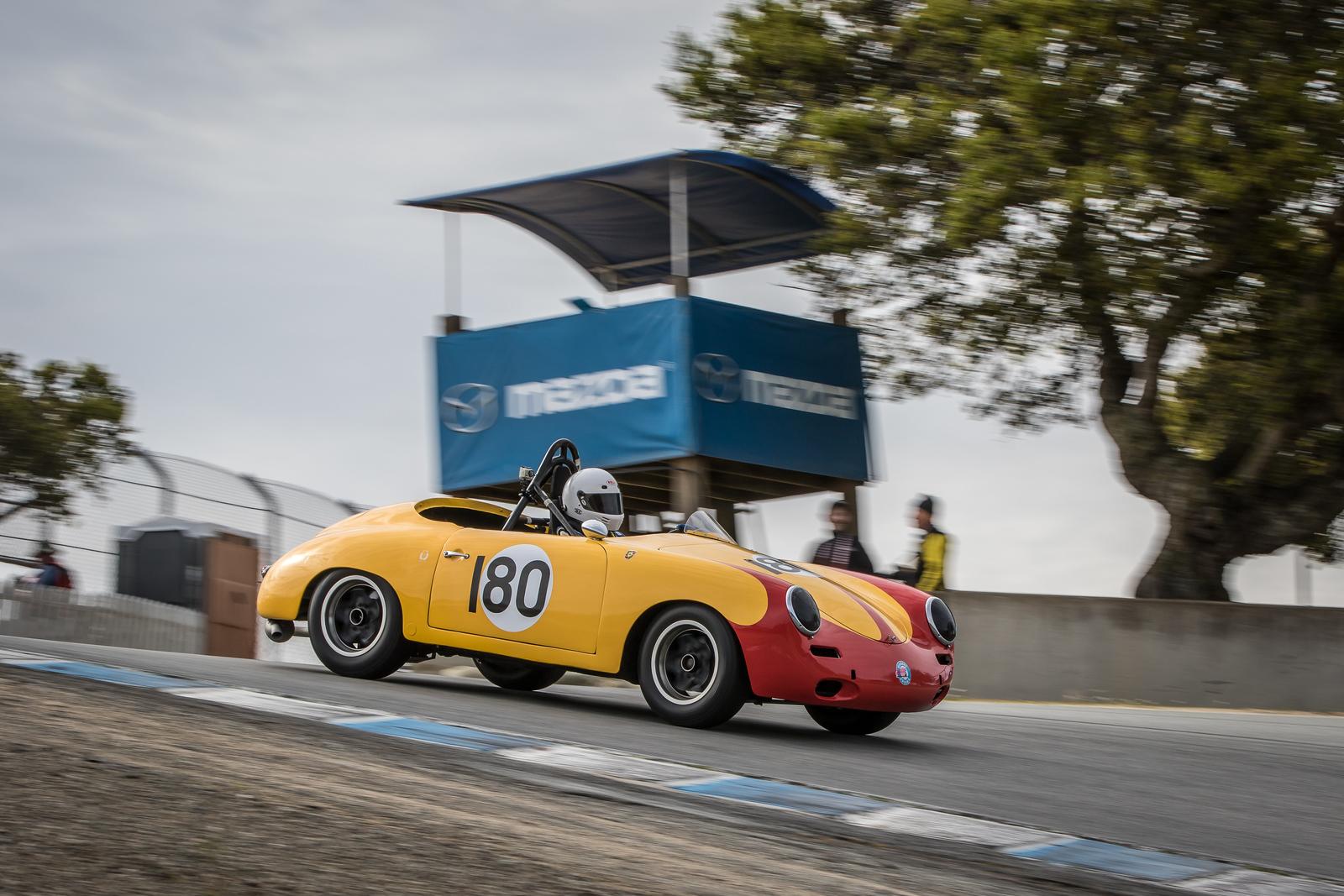 #180 Bob Clucas, 1960 Porsche 356