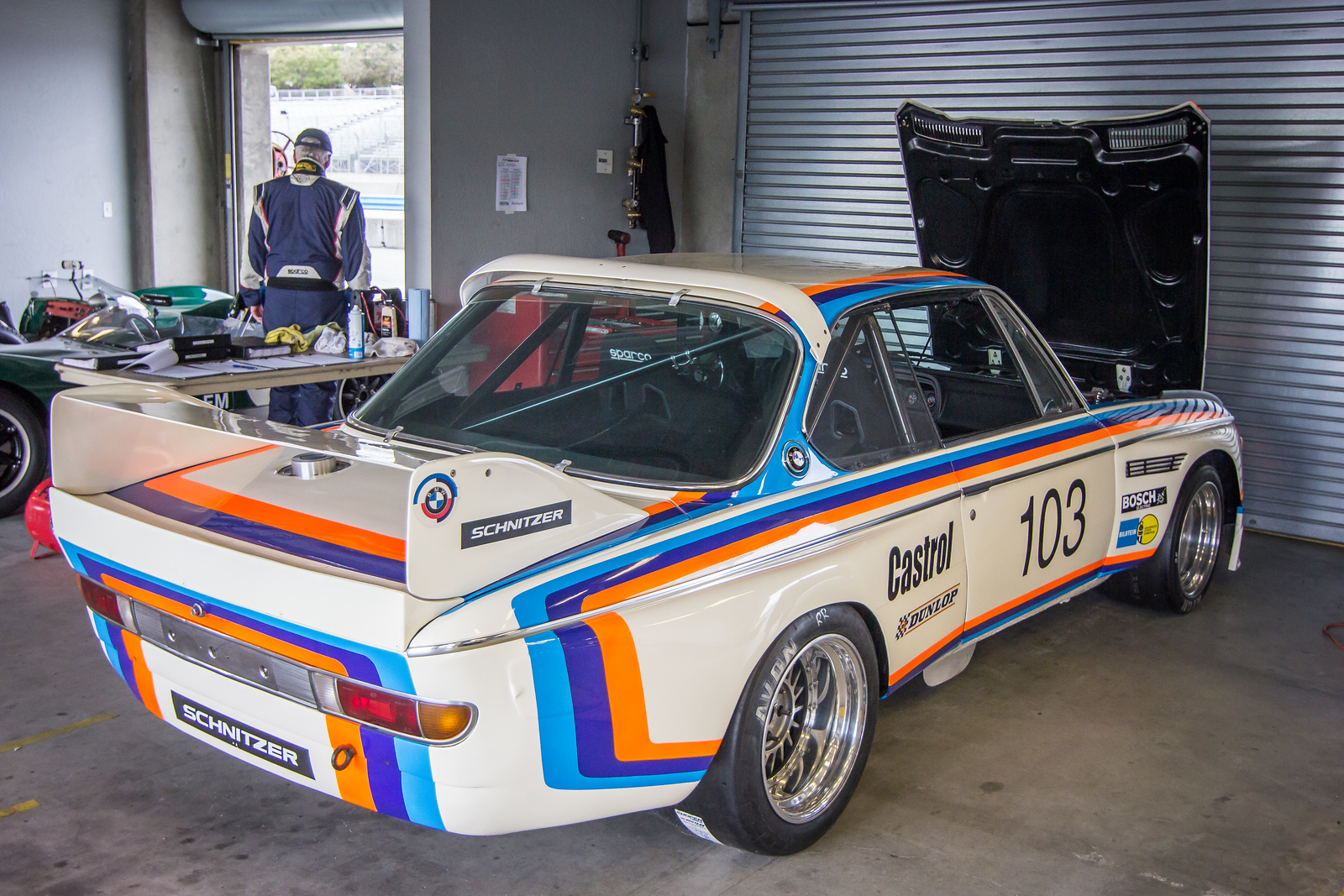 #103 Thor Johnson, 1974 BMW CSL 3.5