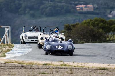 #42 Arthur Cook, 1958 Lotus Eleven