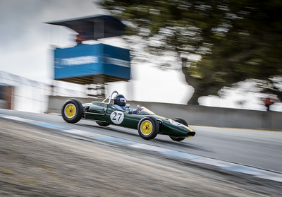#27 Chris Locke, 1963 Lotus 27