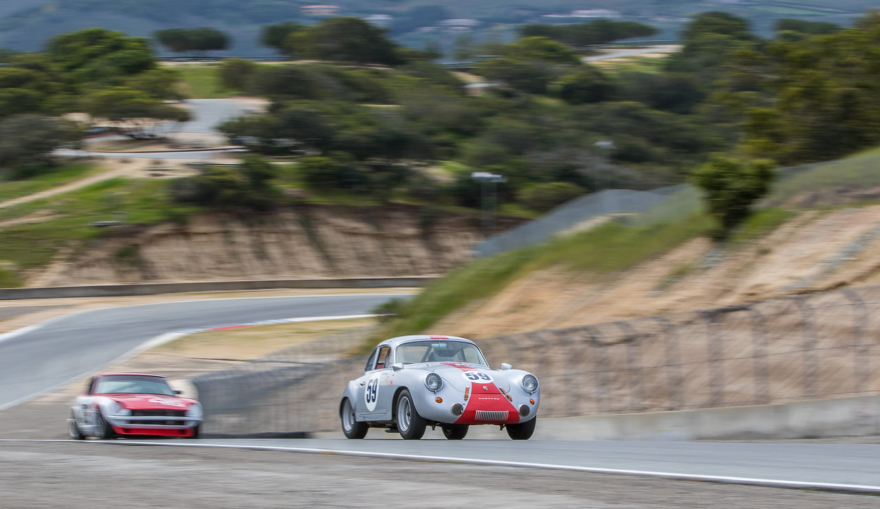 #59 Lindsay Ross, 1963 Porsche 356