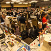 The main room at the LA Lit and Toy Show.  Photo by Mike Greene.