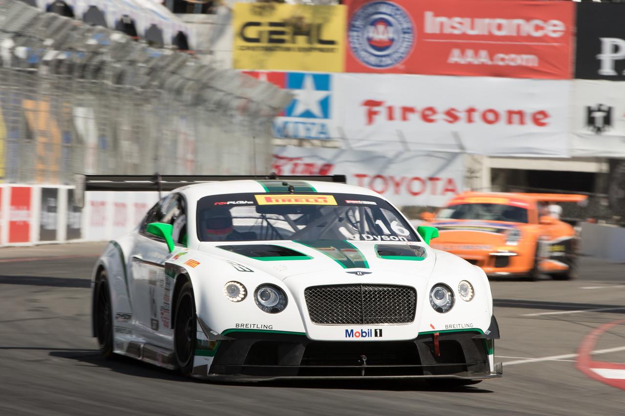 Yes, a Bentley !  Pirelli World Challenge