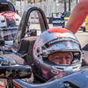 Mario Andretti, with a passenger