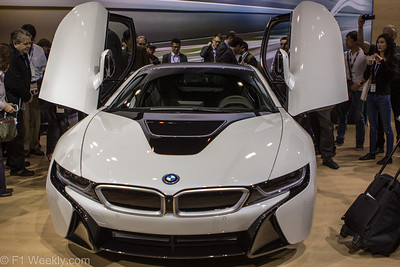 BMW's new  I8 debuted at the show