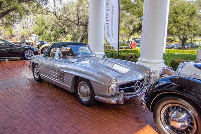 1958 Mercedes-Benz 300 SL Roadster, Peter and Merle Mullin
