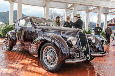 1937 Alfa-Romeo 6C 2300B Mille Miglia Berlinetta, Charles and Debbie Bronson