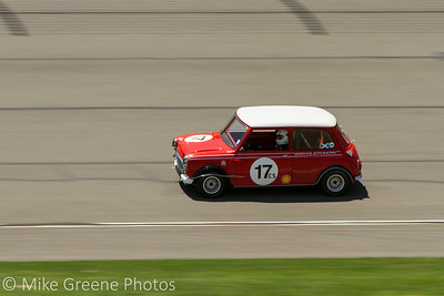 #17 Bart Smith,1962 Austin Mini Cooper.