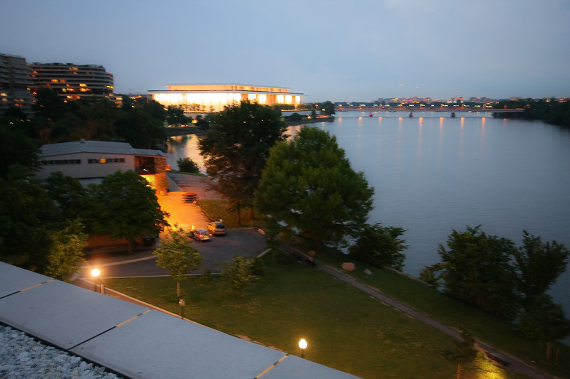 Rooftop view of Kennedy Center