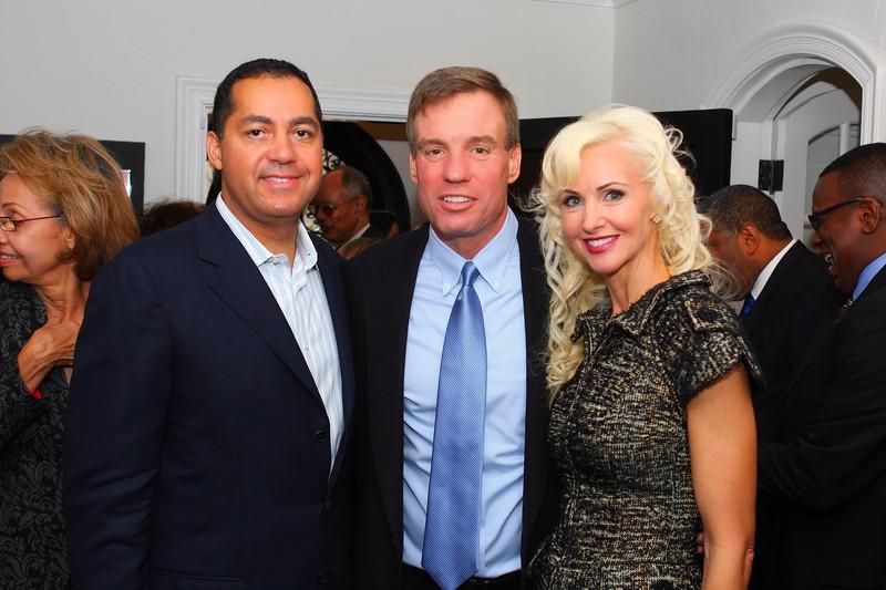 IMG_1470 Don and Katrina Peebles and VA Senator Mark Warner