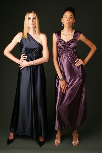 Fashion designer clothes modeling