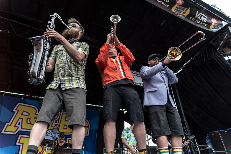 Reel Big Fish - Warped Tour 7/2/16