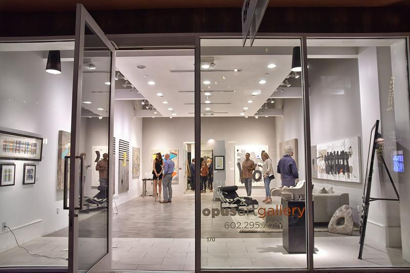 Opus Art Gallery Opening
