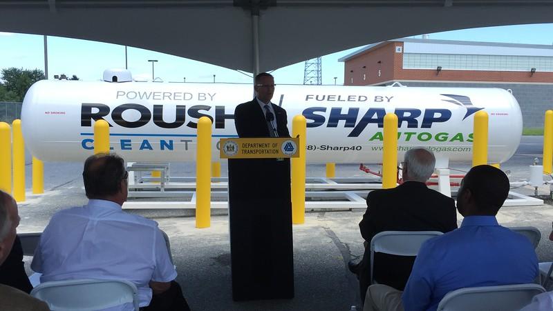 Joe Thompson, president of ROUSH CleanTech